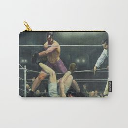 George Wesley Bellows Dempsey VS Firpo Carry-All Pouch