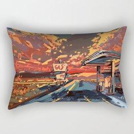american landscape 7 Rectangular Pillow