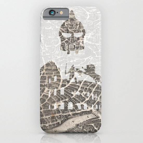 Rome of Gladiators - vintage map iPhone & iPod Case