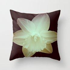 Daffodil 3 Throw Pillow