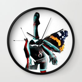 Build a Woman - Cut and Glue · Miss R · the dark side Wall Clock