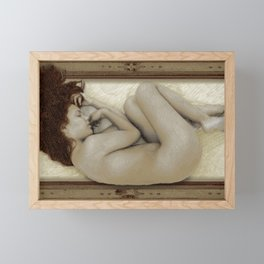 Art For The Sake of Art Woman Framed 3 Framed Mini Art Print