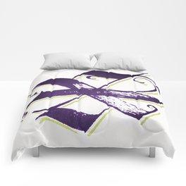 Letter X Comforters