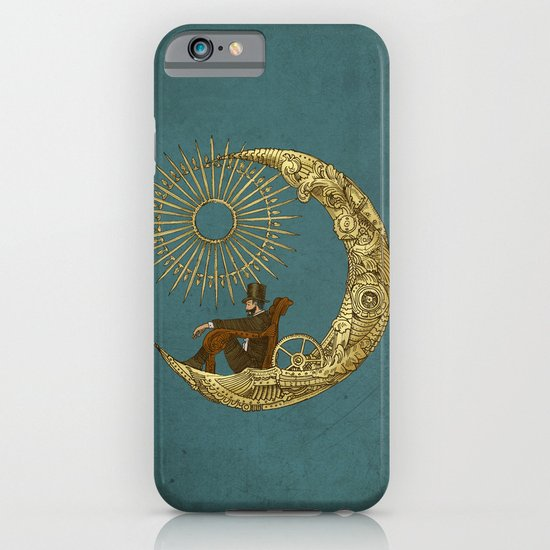 Moon Travel iPhone & iPod Case