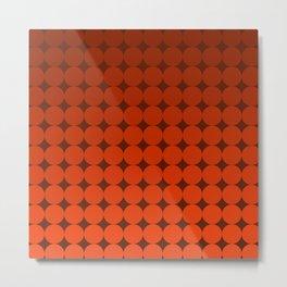 Redd Circles Metal Print