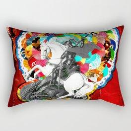São Jorge (Saint George) Rectangular Pillow