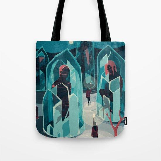 Ice age Tote Bag