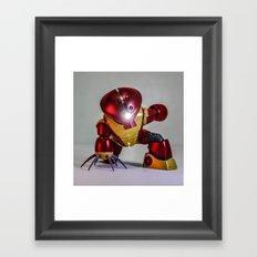 iron guy Framed Art Print