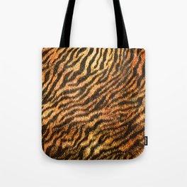 Bengal Tiger Fur Wildlife Print Pattern Tote Bag