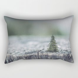 Tree by tree Rectangular Pillow