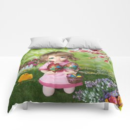 ** Easter Eggs hunting ** Comforters
