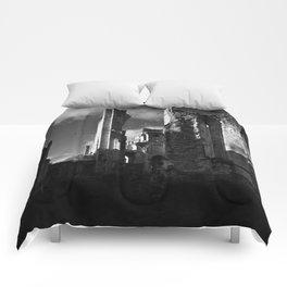 Ruins Jumièges Comforters