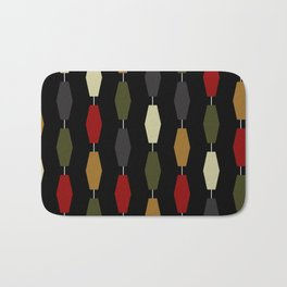 Colima - Black Bath Mat