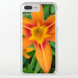 FireFlower Clear iPhone Case