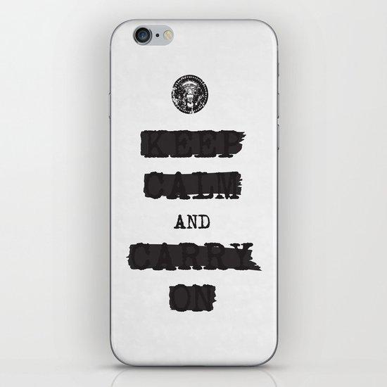redacted. iPhone & iPod Skin