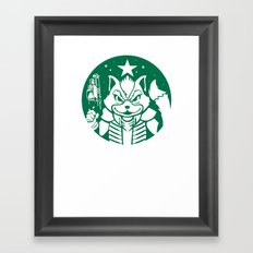 Starfox Coffee Framed Art Print