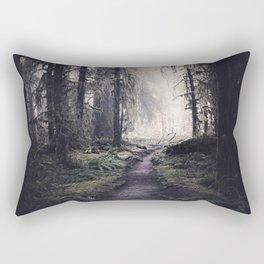 Magical Washington Rainforest Rectangular Pillow