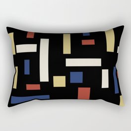 Abstract Theo van Doesburg Composition VII The Three Graces Rectangular Pillow