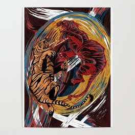 Rise with tigers (Macbeth) Poster