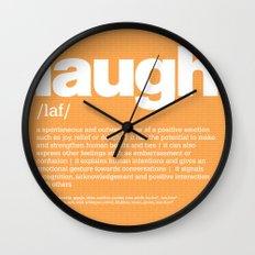 definition LLL - Laugh Wall Clock