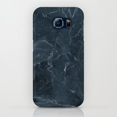 Dark blue marble texture Slim Case Galaxy S7