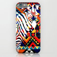 Tribal Zebra Slim Case iPhone 6s