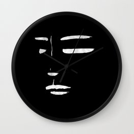 her #1 black Wall Clock