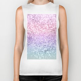 Unicorn Girls Glitter #1 #shiny #pastel #decor #art #society6 Biker Tank
