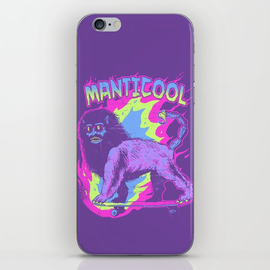 Manticool iPhone & iPod Skin