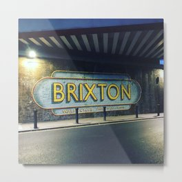Brixton, south west London Metal Print