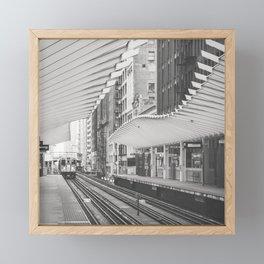 Chicago El Framed Mini Art Print