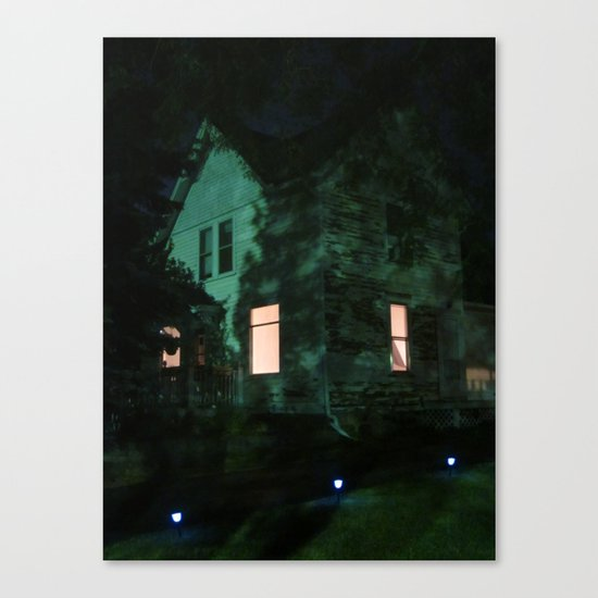 Quite The Weathered House Canvas Print