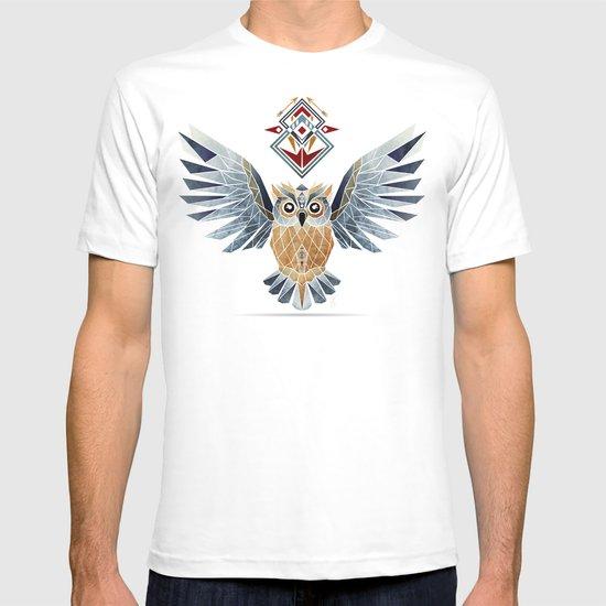 owl winter T-shirt