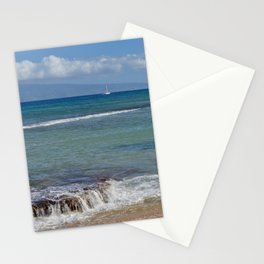 maui to molokai Stationery Cards