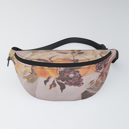 Watercolor Fruit Fanny Pack