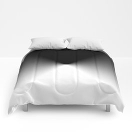 Dark and Light Burst Comforters