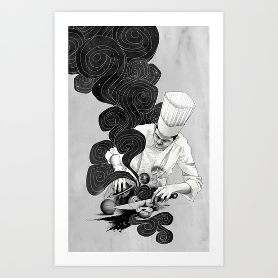 Galactic Chef Art Print