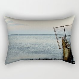 Beyond the Shore's Gate Rectangular Pillow