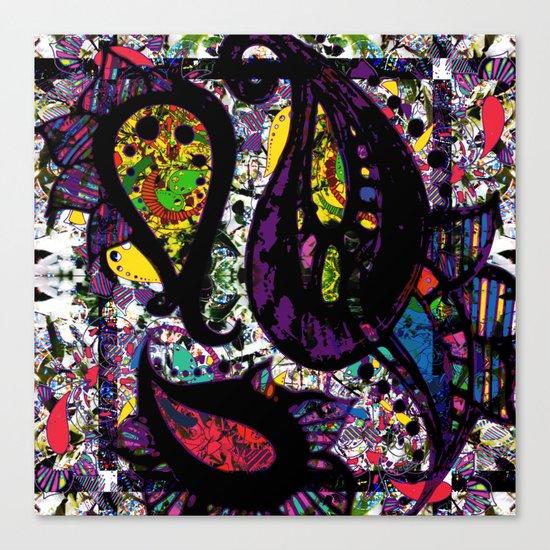 Paisley Chaos Canvas Print