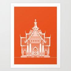 Thai II Art Print
