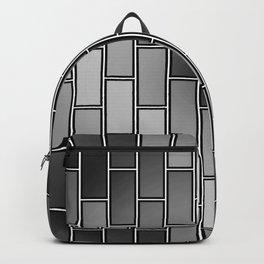 BRICK WALL #2 (Grays) Backpack