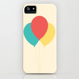 #45 Balloons iPhone Case