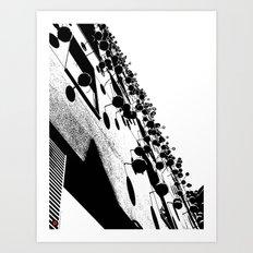 Barna Love B&W Art Print
