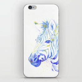 Quiet Zebra iPhone Skin