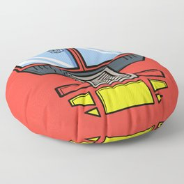 Transformers - Optimus Prime Floor Pillow