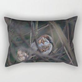 the sparrow Rectangular Pillow