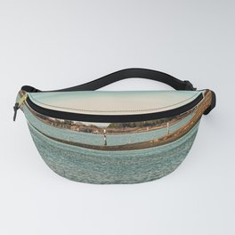 Spring sunset in the lagoon of Grado Fanny Pack