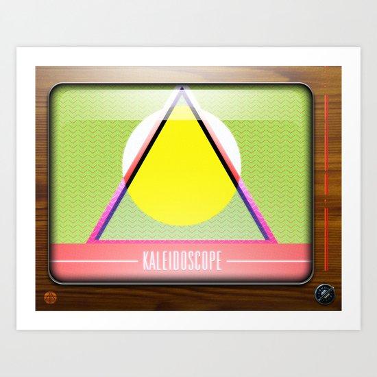 Kaleidoscope TV version A  Art Print