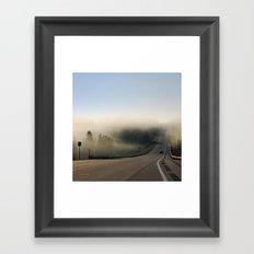 Country Sunrise Landscape Framed Art Print