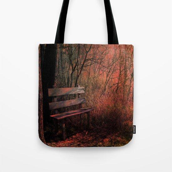 Days Gone By, Forest Landscape Tote Bag